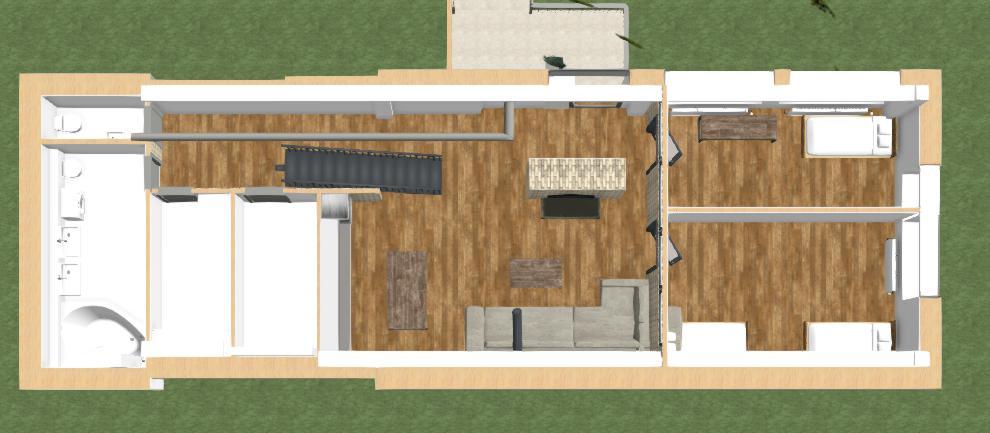 vizualizacia moderneho domu