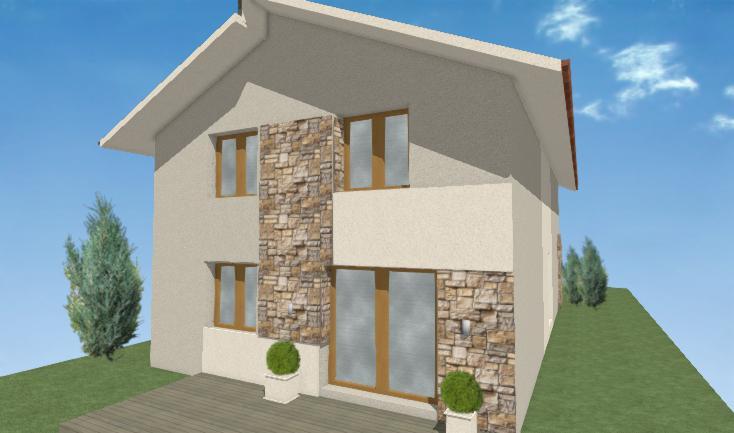 fasada domu