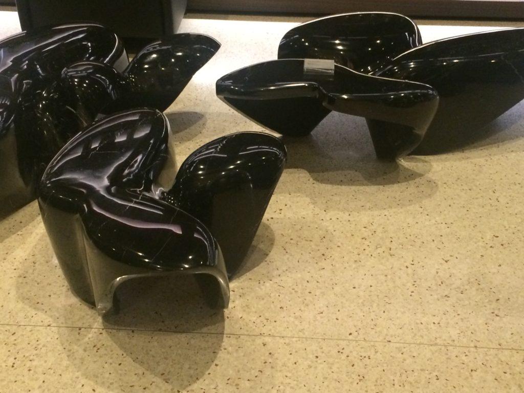 Zaha Hadid interierove prvky