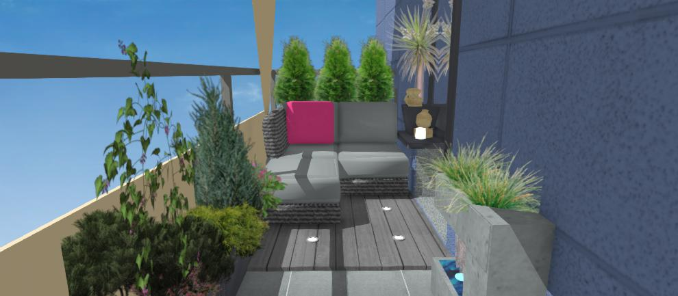 vizualizacia terasy s podlahovym rostom