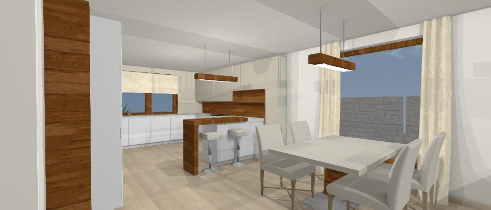 vizualizacia kuchyne jana kadlicova