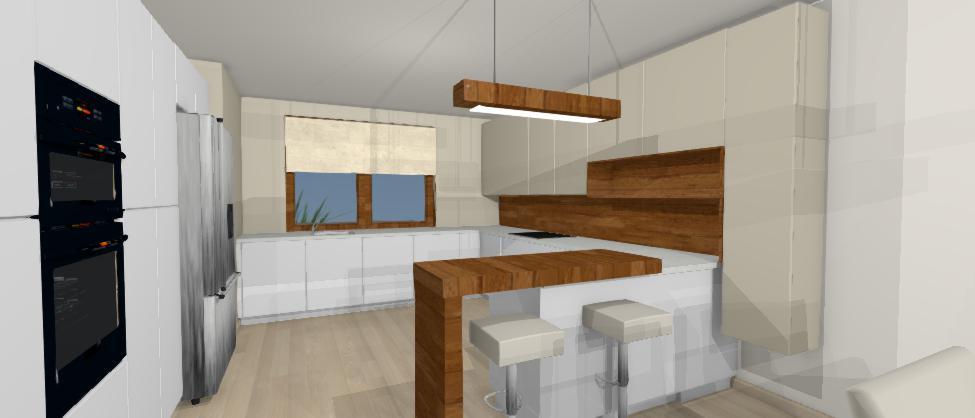 navrh modernej kuchyne jana kadlicova