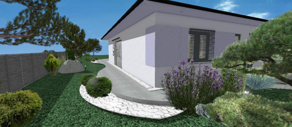 fialova fasada bungalovu bernolakovo