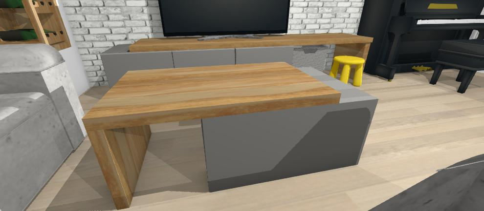 dizajnovy stolik na mieru